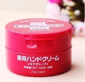 资生堂Shiseido护手霜 红罐尿素药用护手霜 100g-详情-图片1