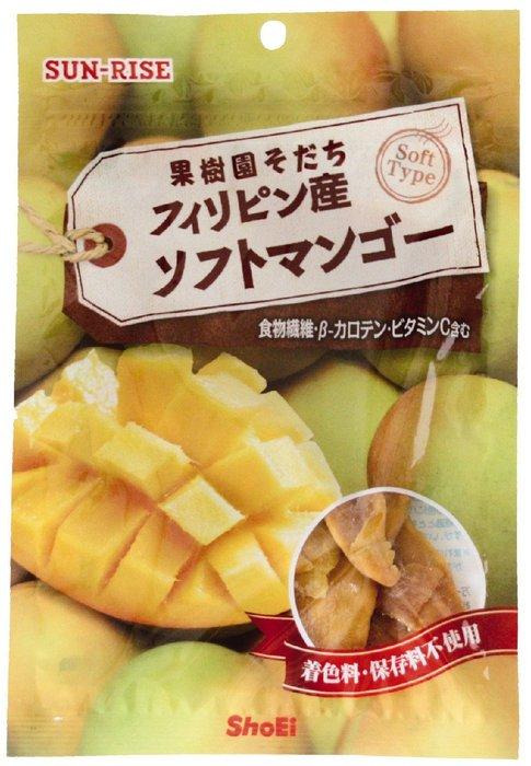 SUN-RISE 果樹園育種 菲律賓產軟式芒果干 60gH-詳情-圖片1