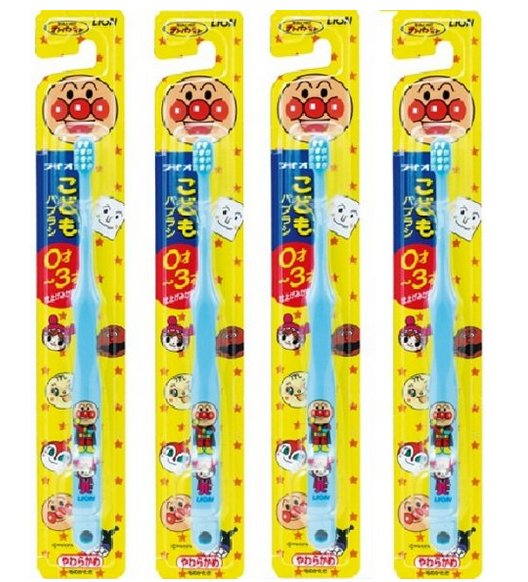 LION 0-3 years child soft hair toothbrush-detail-image1