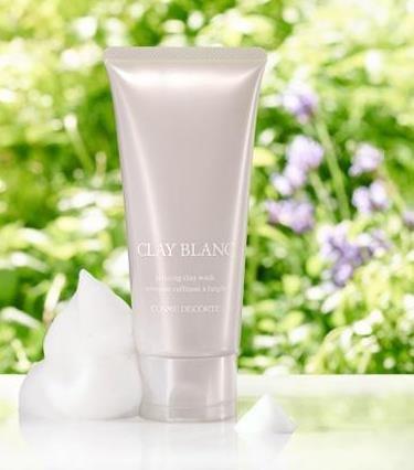 黛珂Decorte CLAY BLANC天然植物白海泥清洁毛孔洁面乳-详情-图片1