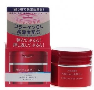 Shishedo Aqualabel Ge Moisture Special Gel Cream for Anti Aging Skin 90 G-detail-image1