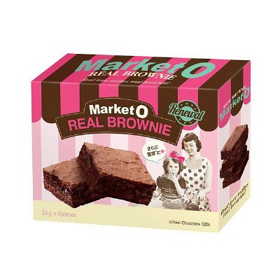 Market O Real Chocolate Brownie 80g-detail-image1