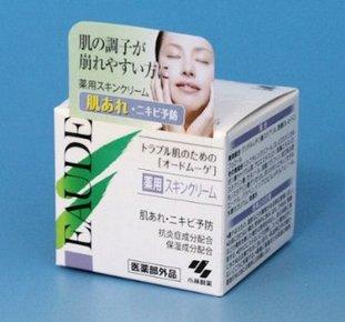 小林制药EAUDE MUGE 药用消炎控油祛痘保湿面霜40g-详情-图片1