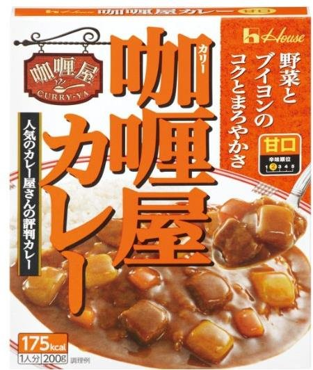 House Curry flavored curry 200g-detail-image1