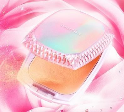 Albion  奥尔滨2015秋季新包装牛奶雪肤保湿粉饼粉色盒子-详情-图片1