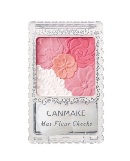 CANMAKE Mat Fleur Cheeks  Three-color election-detail-image1
