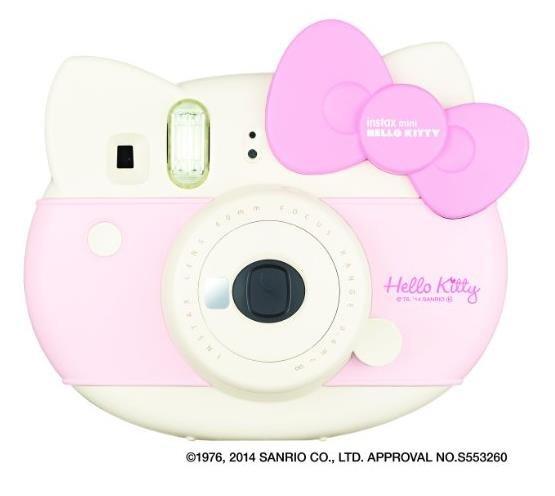 富士拍立得instax mini Hello Kitty 40周年照相机 一次成像-详情-图片1